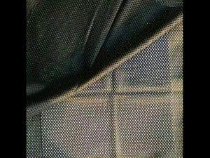 160gsm poliester warp tricot net de țesătură de plasă pentru vesta militară