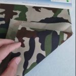 Camuflaj model 80/20 bumbac poliester twill tesatura pentru uniforma militara