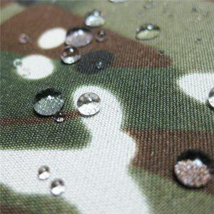 teflon 100% poliester țesute impermeabile în aer liber camuflaj ploaie jacheta tesatura