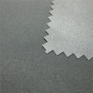 100% poliester pongee acoperite cu impermeabilitate în aer liber în jos jacheta Fabric